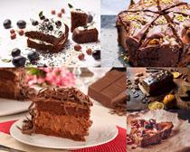 巧克力食物蛋糕摄影高清图片