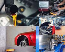 汽車維修展示攝影高清圖片