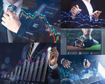 职业数据商务男人摄影高清图片