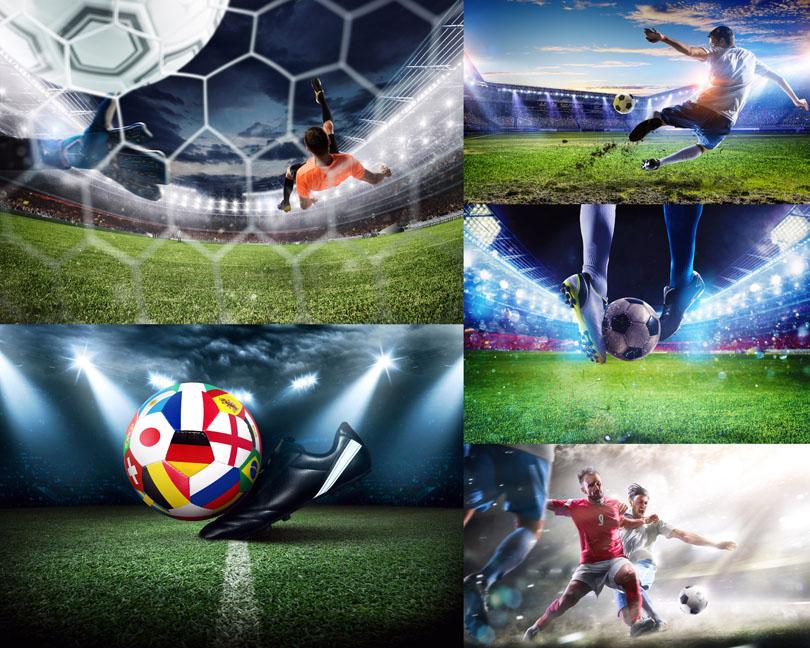 足球运动员摄影高清图片