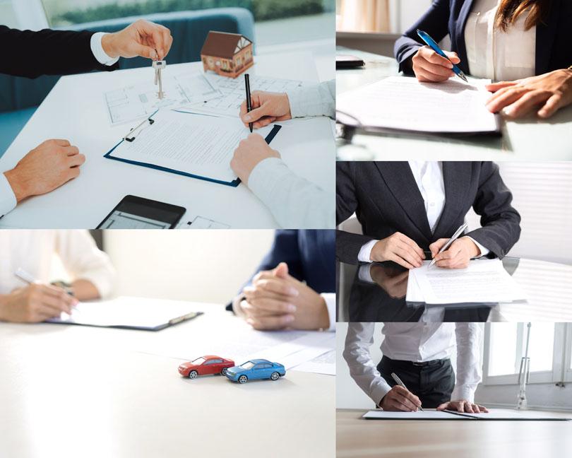签合同的商务人士摄影时时彩娱乐网站
