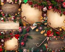 圣誕節日裝飾物品攝影高清圖片