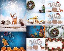國外圣誕節素材裝飾攝影高清圖片