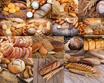 干糧面包食物攝影高清圖片