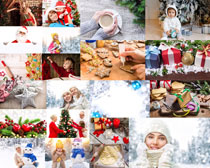 國外的圣誕節人物拍攝高清圖片