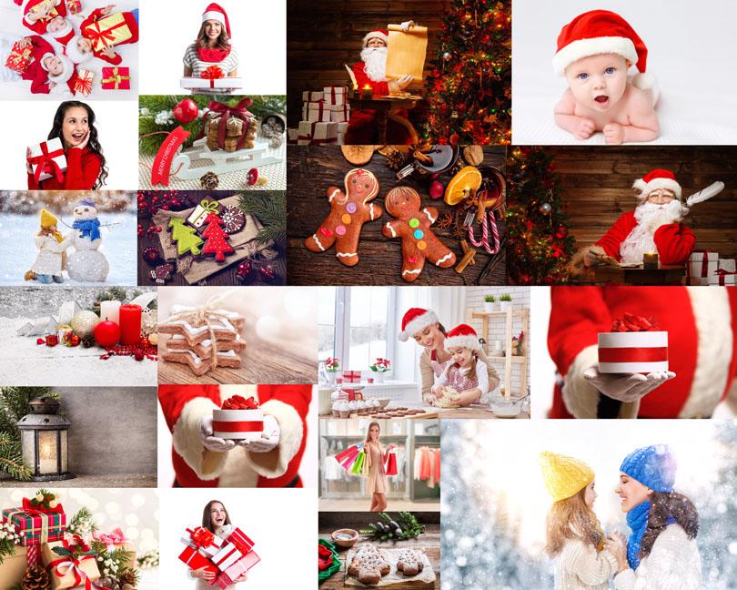 圣诞节礼物与人们摄影时时彩娱乐网站