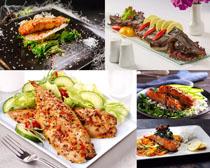 蔬菜套餐飯攝影高清圖片