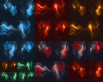 色彩火焰效果背景攝影高清圖片