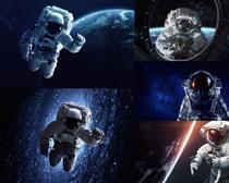 太空人類攝影高清圖片