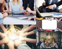 商务团队力量人士摄影高清图片