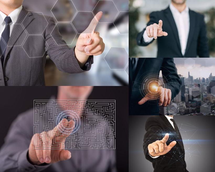 商务男士手指屏摄影时时彩娱乐网站