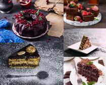 精致甜品蛋糕攝影高清圖片