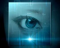 商务科技眼PSD素材