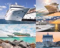 航海油輪交通工具攝影高清圖片