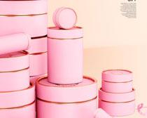 化妝禮品盒包裝PSD素材