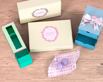 產品包裝盒展示PSD素材