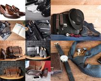 商務皮帶服飾攝影高清圖片