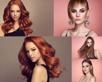 國外美女發型模特攝影高清圖片