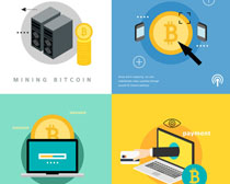 貨幣金融商務PSD素材