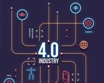 4.0科技数码商务PSD素材