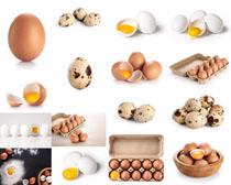 雞蛋食材展示攝影高清圖片