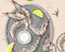 海鲜大虾PSD素材