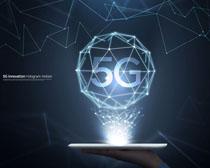 5G时代科技PSD素材