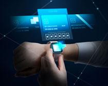 手表科技数码展示PSD素材