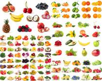 各種新鮮水果展示攝影高清圖片