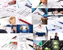 計劃選項商務攝影高清圖片
