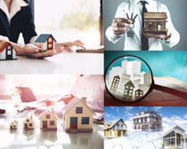 建筑房屋模型展示攝影高清圖片