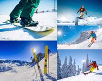 体育运动滑雪人物摄影高清图片