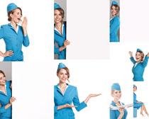国外空姐美女摄影高清图片