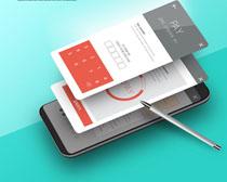 现代手机技术支付PSD素材