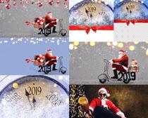 快樂的圣誕老人攝影高清圖片