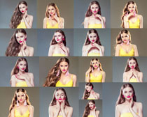 国外化妆美女拍摄高清图片