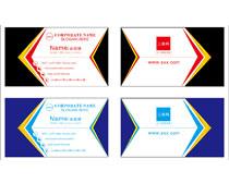 创意名片卡片设计矢量素材