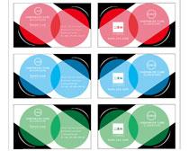 企业名片卡片设计矢量素材