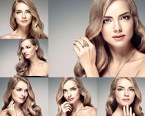 金发美女拍摄高清图片