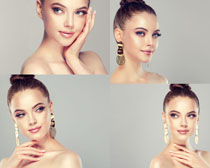 歐美化妝美容女性攝影高清圖片