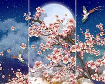 梅花天空装饰画时时彩投注平台