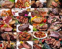 牛排美食展示拍摄高清图片