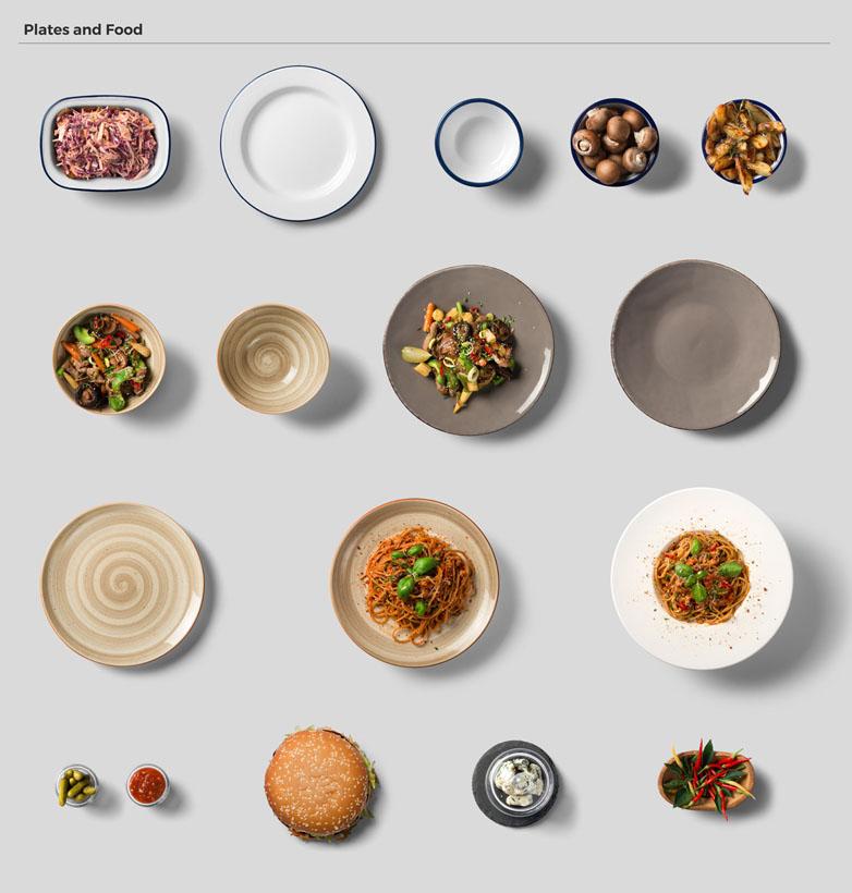 碗里的食物PSD素材