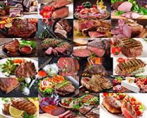 牛肉食材展示摄影高清图片