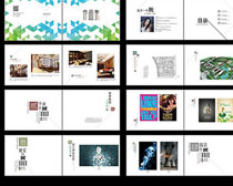 文化宣傳畫冊PSD素材