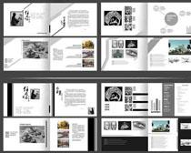 环境作品集画册PSD素材