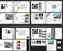 文化设计作品集画册PSD素材