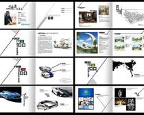 艺术风设计画册PSD素材