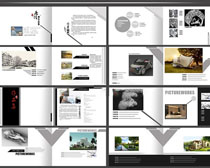 環保環境設計集畫冊PSD素材