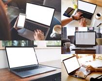 筆記本商務電腦攝影高清圖片